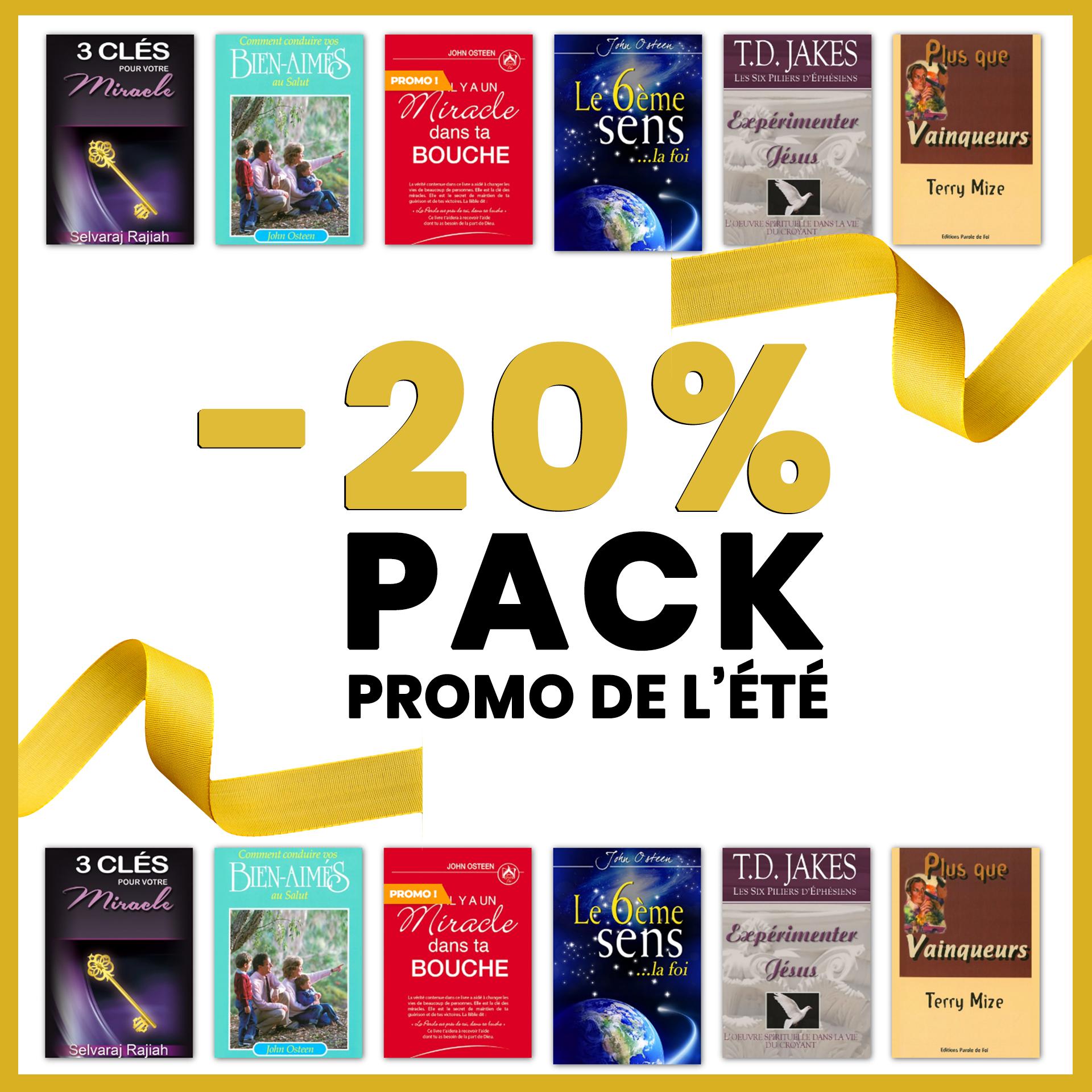 Pack Promo Été