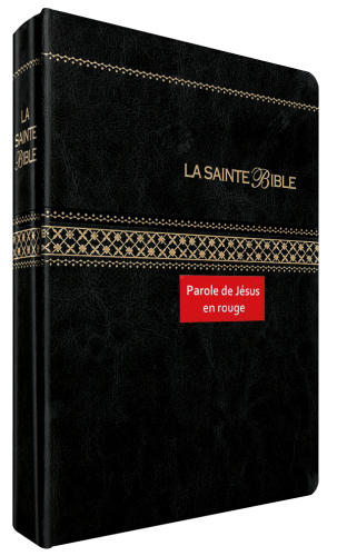 MDS EDITIONS - Bible Segond 1910, gros caractères, noire