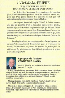 Kenneth hagin, L'art de la prière